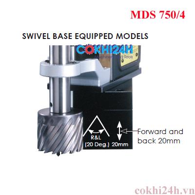 Đế xoay máy khoan từ AGP MDS750/4